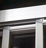 Душевой уголок GuteWetter Practic Rectan GK-403 правая 130x120 см стекло бесцветное, профиль матовый хром, фото 7