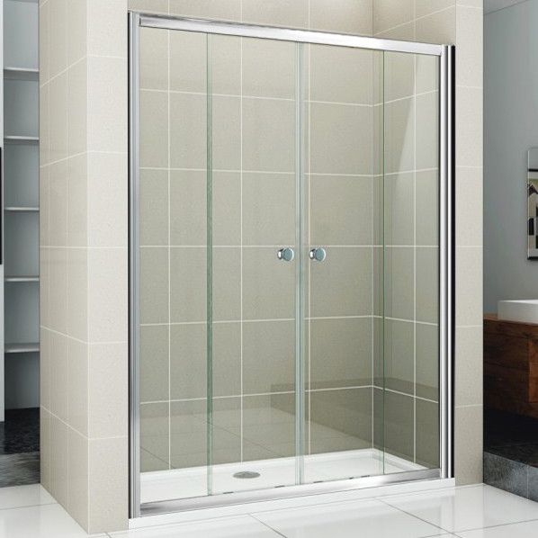 Душевая дверь в нишу Cezares Pratico BF2 160 C Cr