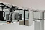 Душевой уголок Kubele DE018RBG-MAT-CH-105х90х200, фото 2