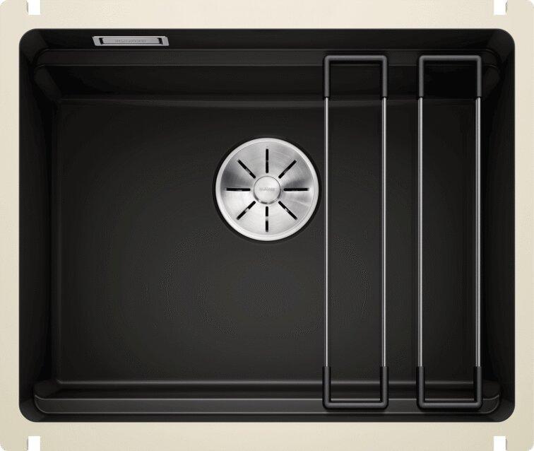 Мойка кухонная Blanco Etagon 500-U 525155 черная