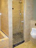 Душевая дверь в нишу GuteWetter Trend Door GK-861 левая 85 см стекло бесцветное Two, фурнитура хром, фото 3