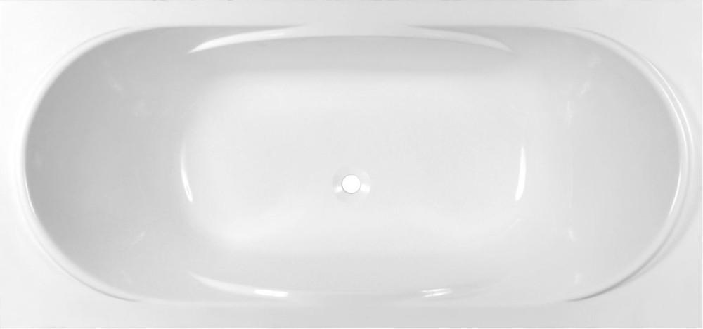 Ванна из искусственного камня Эстет Астра 170x80 с ножками