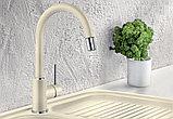 Смеситель Blanco Mida-S Silgranit 521458 для кухонной мойки, фото 3