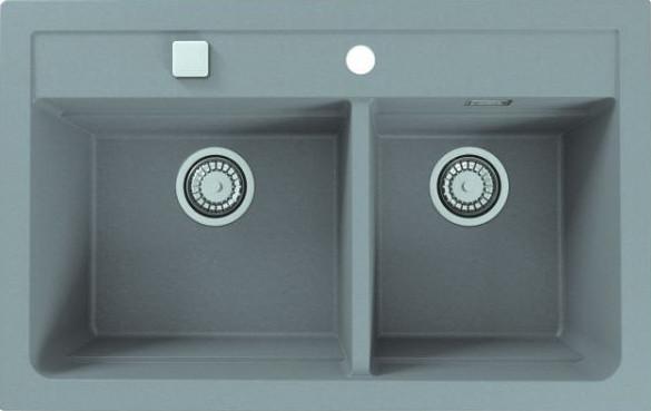 Мойка кухонная Alveus Atrox Granital 50 concrete