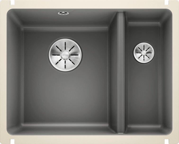 Мойка кухонная Blanco Subline 350/150-U базальт