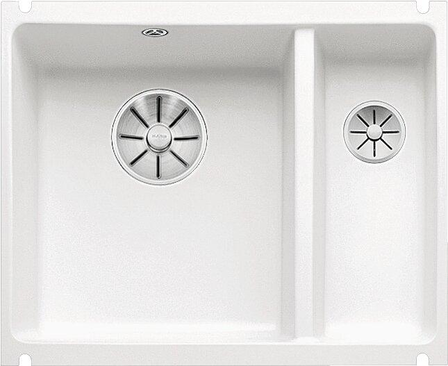 Мойка кухонная Blanco Subline 350/150-U белая