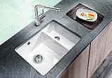 Мойка кухонная Blanco Subline 350/150-U белая, фото 2