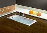 Чугунная ванна Roca Malibu 2315G000R 150х75 см, фото 8