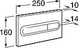 Комплект Система инсталляции для унитазов Roca DUPLO WC 890090020 + Кнопка смыва Roca PL1 Dual хром +, фото 5