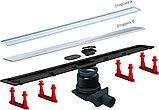 Душевой лоток Pestan Confluo Frameless Line 750 матовый хром, фото 9