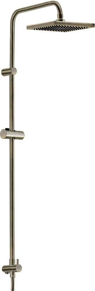 Душевая стойка Wasserkraft A040 светлая бронза