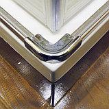 Душевой уголок GuteWetter Slide Rectan GK-864 правая 85x70 см стекло бесцветное, профиль хром, фото 7