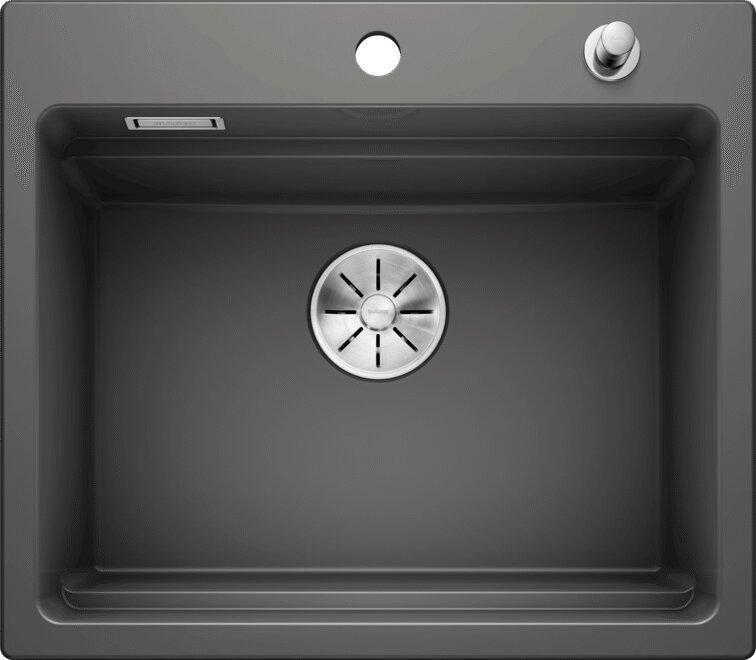 Мойка кухонная Blanco Etagon 6 базальт