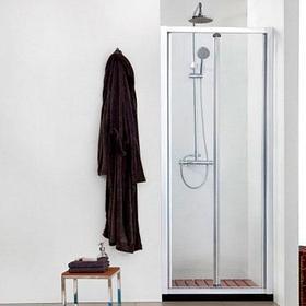 Душевая дверь в нишу Aquanet Alfa 210022 + коврик