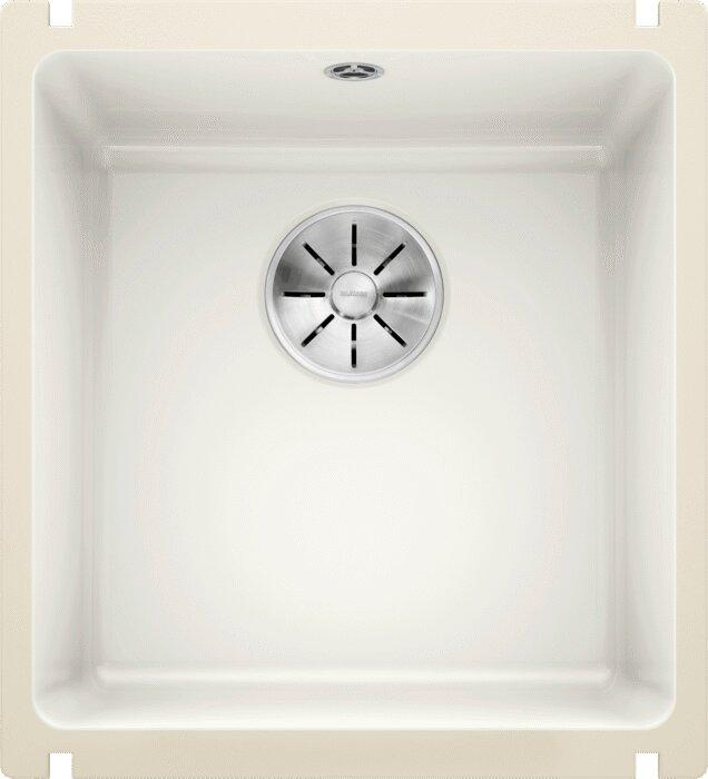Мойка кухонная Blanco Subline 375-U глянцевая белая