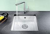 Мойка кухонная Blanco Subline 375-U глянцевая белая, фото 2