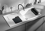 Мойка кухонная Blanco Sity XL 6 S белая, аксессуары лава, фото 2