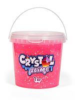 "Игрушка ""Slime"" Crystal slime, розовый, 1 кг"