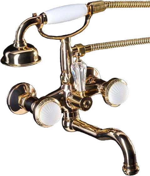 Смеситель Boheme Satin 293-ST для ванны с душем
