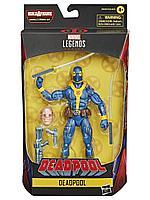 Hasbro / Фигурка Marvel Legends Deadpool Blue Deadpool 15см