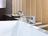 Смеситель Hansgrohe Metropol 32550000 на борт ванны, фото 2