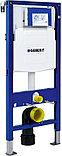 Система инсталляции для унитазов Geberit Duofix UP320 111.300.00.5 с кнопкой смыва матовый хром/хром,, фото 2