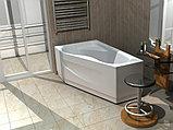 Акриловая ванна Акватек Медея L, вклеенный каркас, фото 2