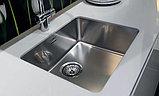 Мойка кухонная Reginox Ohio 40x40 Cuadrat LUX OKG L сталь, фото 3