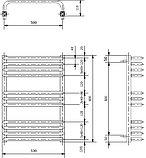 Полотенцесушитель электрический Luxrad Salto Invest 063671 60х53 R, белый, терморегулятор selmo pad, фото 4