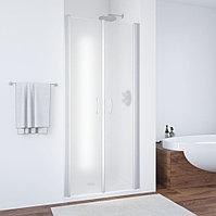Душевая дверь в нишу Vegas Glass E2P 70 07 10 профиль матовый хром, стекло сатин
