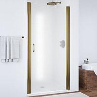 Душевая дверь в нишу Vegas Glass EP 75 05 10 профиль бронза, стекло сатин