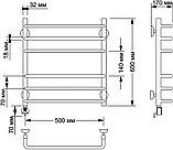 Полотенцесушитель электрический Secado Мерида 3 50х60, фото 4