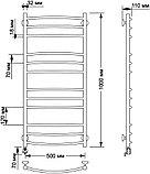 Полотенцесушитель электрический Secado Милан 3 50х100, фото 4