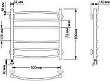 Полотенцесушитель электрический Secado Милан 3 50х60, фото 4