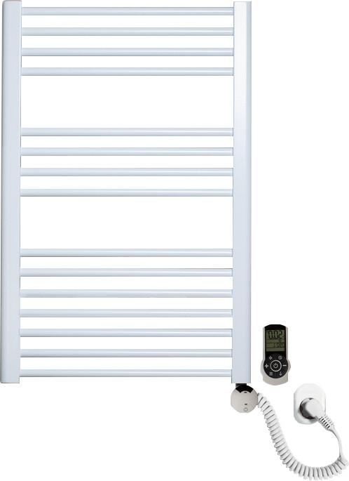 Полотенцесушитель электрический Luxrad Regular 063821 76x50 R, белый, терморегулятор selmo smart programm с