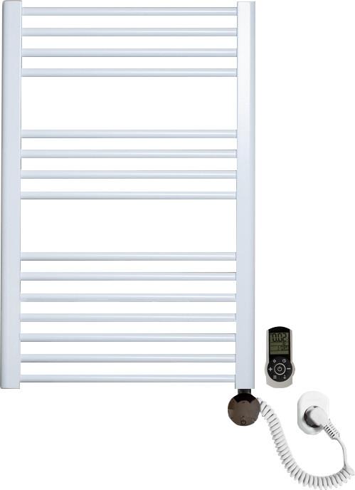 Полотенцесушитель электрический Luxrad Regular 063823 76x50 R, белый, терморегулятор selmo smart programm с