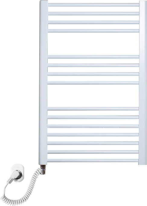 Полотенцесушитель электрический Luxrad Regular 063818 76x50 L, белый, терморегулятор selmo pad