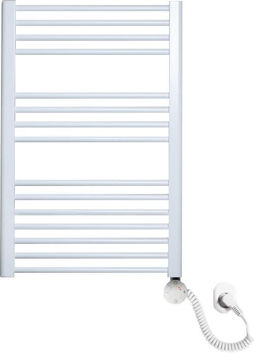 Полотенцесушитель электрический Luxrad Regular 063809 76x50 R, белый, терморегулятор selmo smart