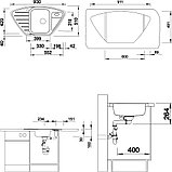 Мойка кухонная Blanco Lantos 9E-IF, фото 5
