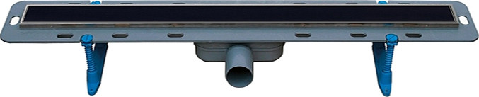 Душевой лоток Winkiel Ekoline Vetro Black WDO-800-09-4413