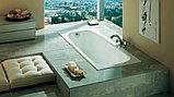 Чугунная ванна Roca Continental 21290200R 160x70 см, без антискользящего покрытия + смеситель для ванны с, фото 4