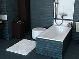 Чугунная ванна Roca Continental 21290200R 160x70 см, без антискользящего покрытия + смеситель для ванны с, фото 5