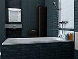 Чугунная ванна Roca Continental 21290200R 160x70 см, без антискользящего покрытия + смеситель для ванны с, фото 6