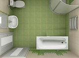 Чугунная ванна Roca Continental 21290200R 160x70 см, без антискользящего покрытия + смеситель для ванны с, фото 8