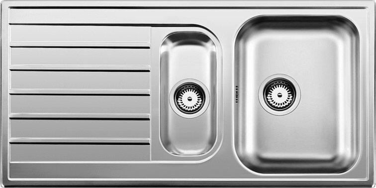 Мойка кухонная Blanco Livit 6 S сталь полированная