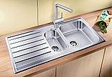Мойка кухонная Blanco Livit 6 S сталь полированная, фото 2