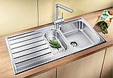 Мойка кухонная Blanco Livit 6 S сталь полированная, фото 3