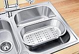 Мойка кухонная Blanco Livit 6 S сталь полированная, фото 4