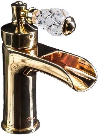 Смеситель Boheme Vogue Crystal 211-CRST для раковины