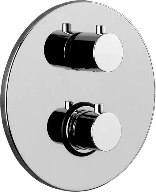 Термостат Paffoni Light LIQ019CR С ВНУТРЕННЕЙ ЧАСТЬЮ, для ванны с душем